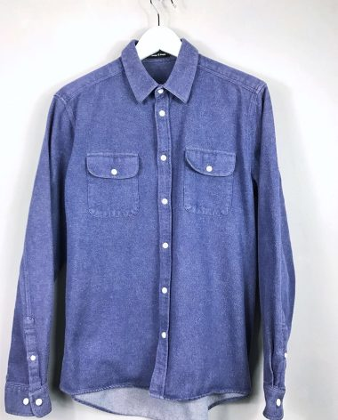 dickes Baumwollhemd von SAMSOE & SAMSOE