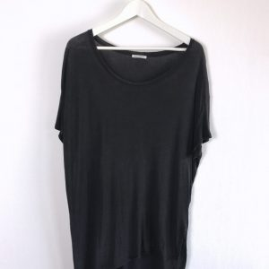 ACNE STUDIOS Above Ten asymmetrisches oversize T-Shirt Lyocell