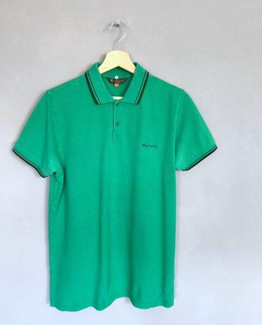 BEN SHERMAN Poloshirt grün