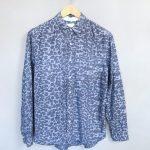 WOOD WOOD 3rd Movement Shirt Hemd Leo Baumwolle Cotton