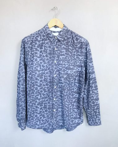 WOOD WOOD 3rd Movement Shirt Hemd Leo Baumwolle Cotton