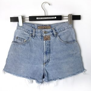 MUSTANG VINTAGE HIGH WAIST DENIM SHORTS