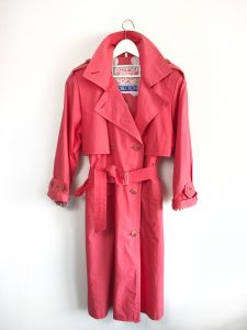 COLLECTION VINTAGE MANTEL HIMBEER RASPBERRY COAT