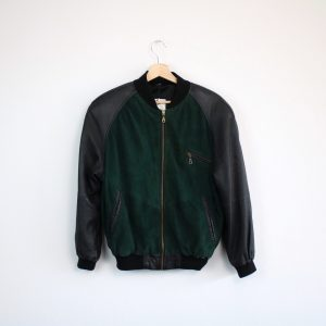 G.O.L. INTERNATIONAL Lederbomber Lederjacke leather bomber jacket BASEBALL