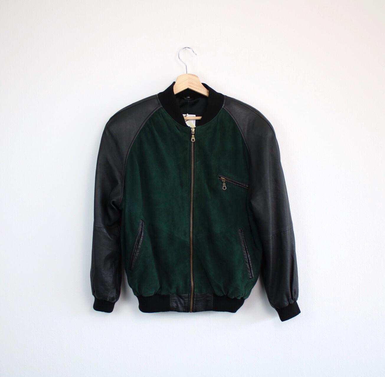 G.O.L. INTERNATIONAL Lederbomber Lederjacke leather bomber jacket BASEBALL
